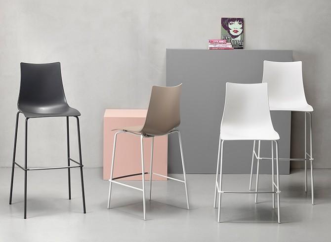 Tavoli e sedie sgabello zebra