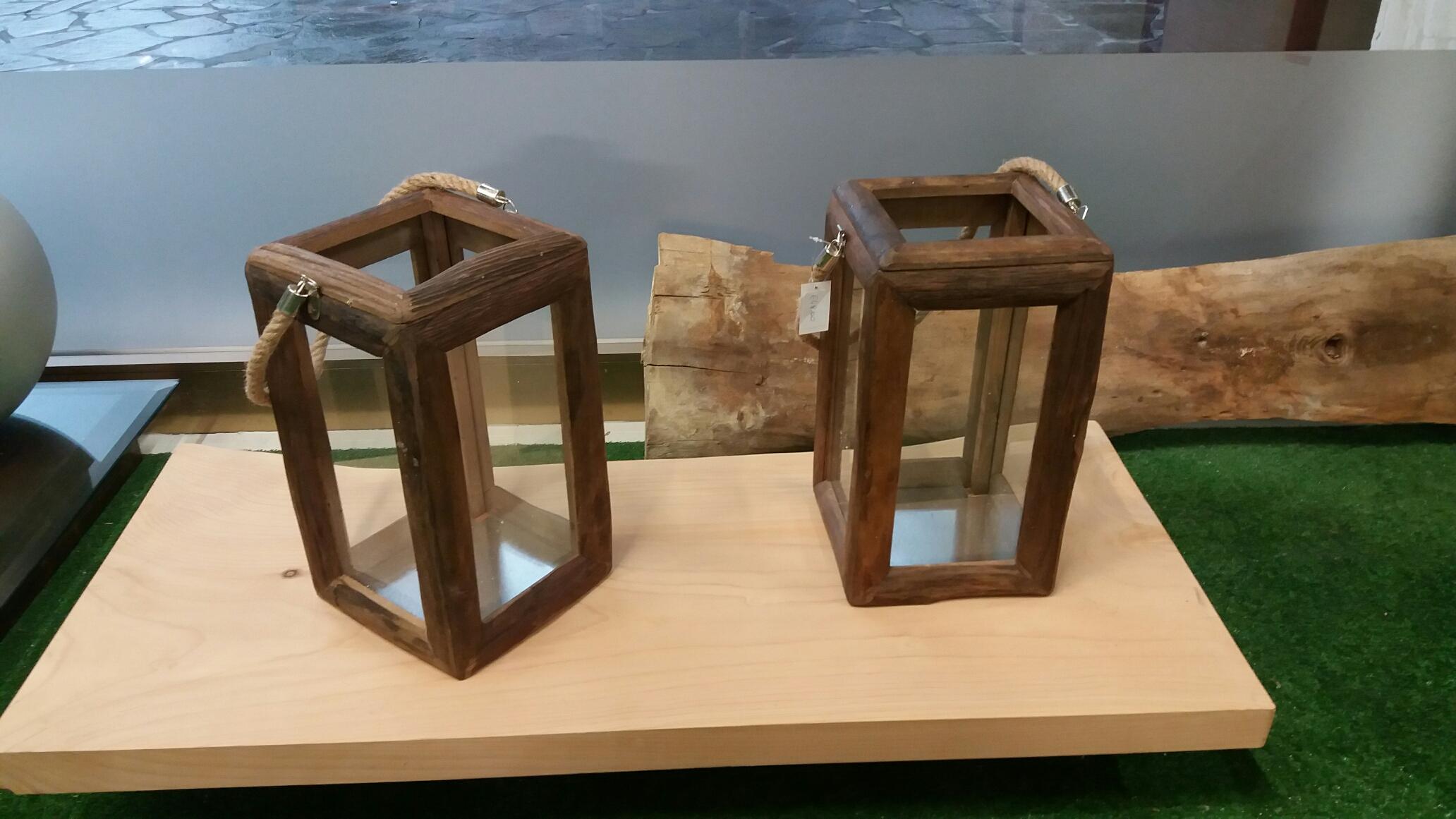 Arredi da interno lanterne in legno for Lanterne in legno